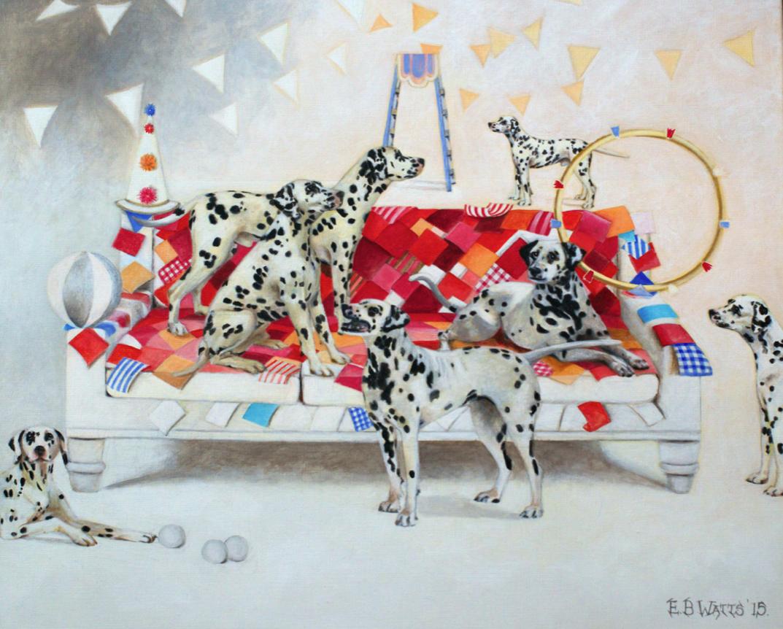 Circus Dalmatians © EBWatts