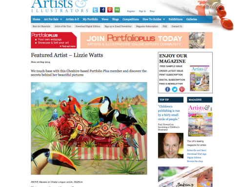 Illustrators Magazine – A Wonderful Interview