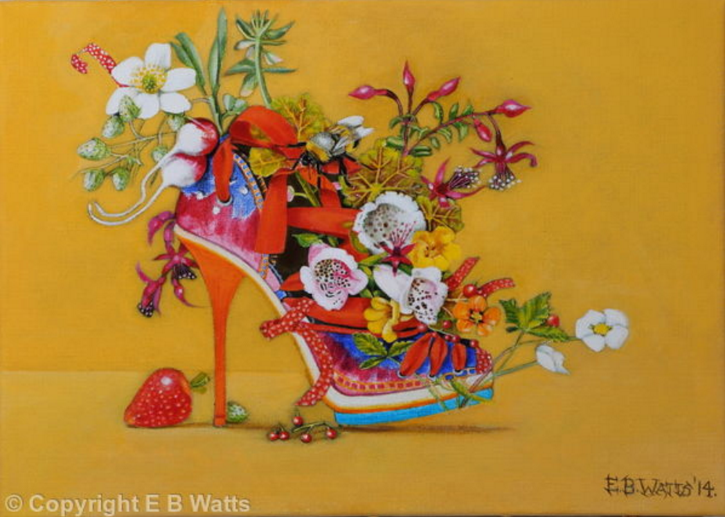 Summer Heel by EB Watts