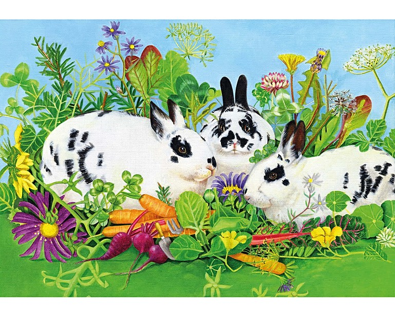 Rabbit Heaven Jigsaw Puzzle